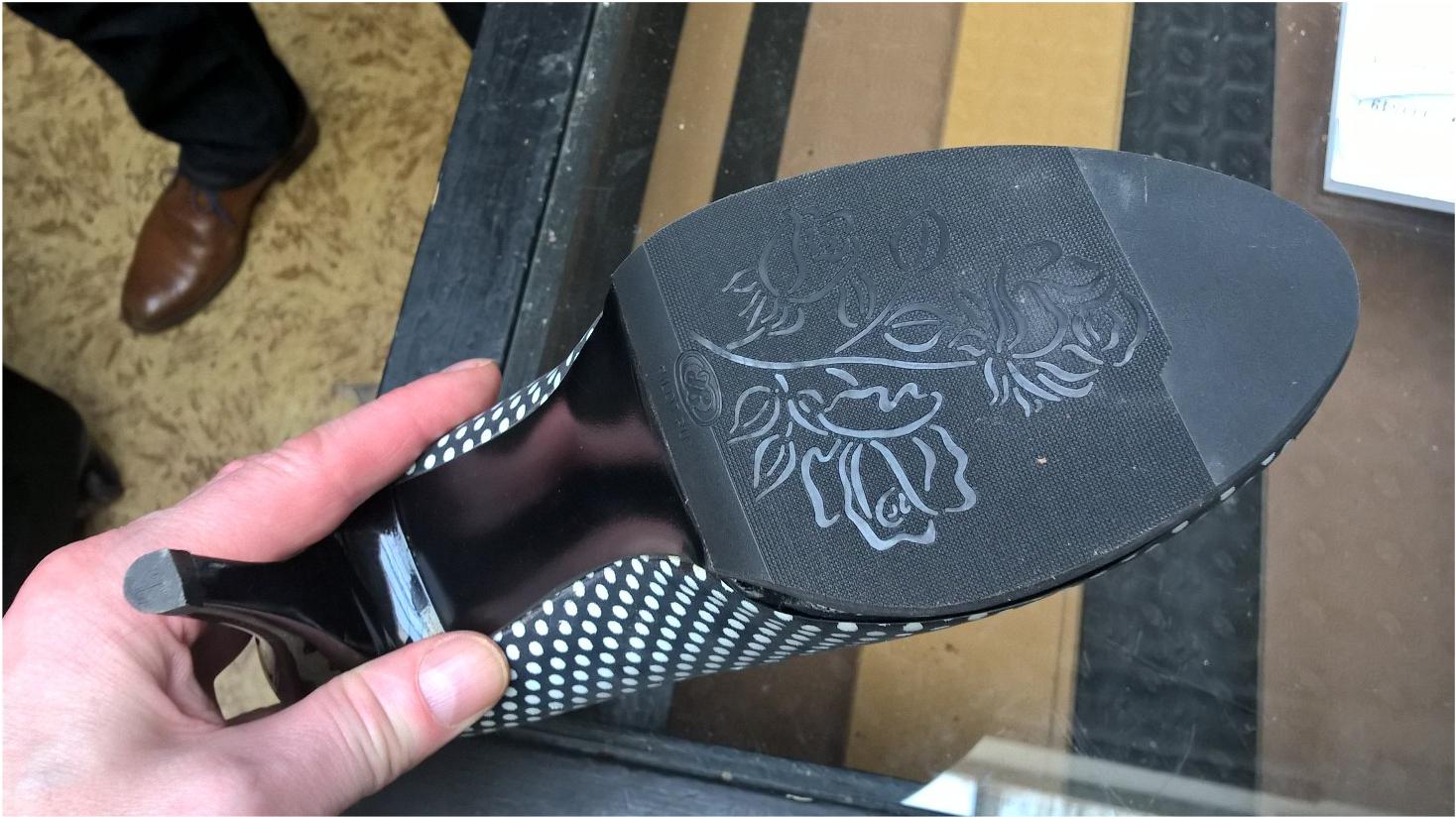 Наша продукция на обуви
